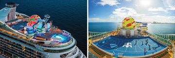 Royal Caribbean Mariner of the Seas Aerial views