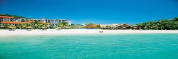 The beach at Sandals Grenada