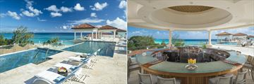 Sky pool and bar at Sandals Royal Barbados