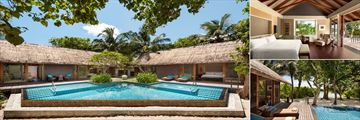 Two Bedroom Beach Villa at Shangri La Villingili Resort & Spa