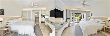 LUX* Le Morne Standard Room and Junior Suite