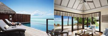 One Bedroom Ocean Suite and One Bedroom Beach Suite at Taj Exotica Resort & Spa