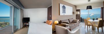 Junior Suite and Executive Suite at Tivoli Marina Vilamoura