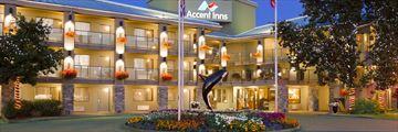 Accent Inns Victoria, Hotel Exterior