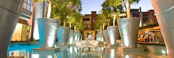 African Pride Melrose Arch Hotel, Pool Area