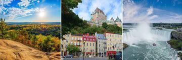 Algonquin Provincial Park, Quebec City & Niagara Falls, Eastern Canada