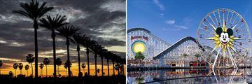 Anaheim & Disneyland, California