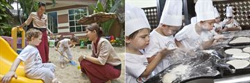 Anantara Bophut Koh Samui Resort, Baan Ling Noi Children's Club and Children's Pizza Class