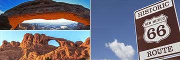 Arches National Park, The Canyonlands & Route 66 New Mexico