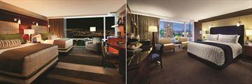 Deluxe Queen Room and Deluxe King Room at Aria Resort & Casino