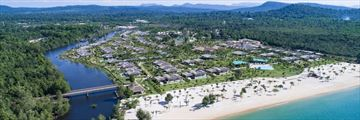 Fusion Resort Phu Quoc from above
