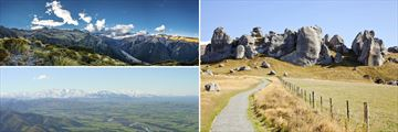 Arthur's Pass, Canterbury Plains & Castle Hill