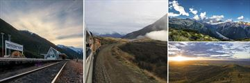 Scenic TranzAlpine Train Scenery
