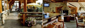 Aspen Inn, Riverhouse Restaurant & Lounge - Terrace and Interior
