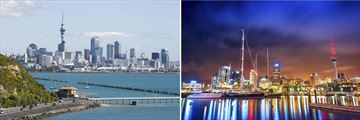 Auckland Skyline & Harbour, North Island