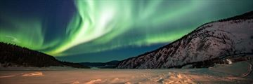 The aurora borealis in Yukon