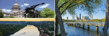 Sights and landscapes of Austin, Texas