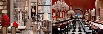 Grand Salon Restaurant and The Bar at Baccarat Hotel