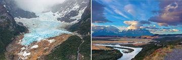Balmaceda Glacier & Serrano Mountain Scenery, Chile