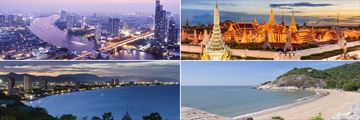 Bangkok & Hua Hin landscapes and attractions