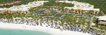 Barcelo Maya Palace, Aerial Resort View
