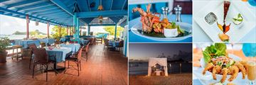 Bay Gardens Beach Resort & Spa, Fresh Food at Seagrapes Beach Bar & Restaurant