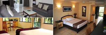 Seating Area, Standard Room and Studio at Bay Village Tropical Retreat