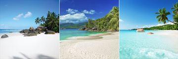 Beaches in Silhouette, Mahe & Praslin