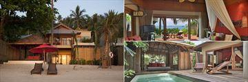 Beachfront Pool Room at Anantara Rasananda Koh Phangan Villas