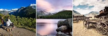 Rocky Mountain National Park & Wyoming's Old West Scenery