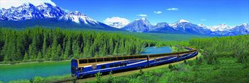 Beautiful Rocky Mountaineer Scenery