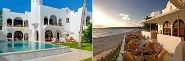 Jonquil Suite Exterior and Maundays Club at Belmond Cap Juluca