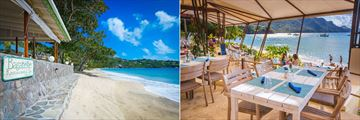 Bagatelle Restaurant and Jake's Beach Bar at Bequia Beach Hotel