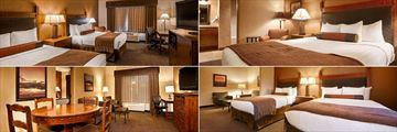 Best Western Plus Bryce Canyon Grand, (clockwise from top left): Guestroom, Suite, Guestroom and Suite Living Area