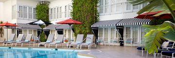 Beverly Hilton, Pool Deck