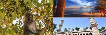 Wildlife in Borneo, Langkawi Beachfront & Architecture in Kuala Lumpur