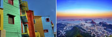 Architecture in Buenos Aires & Rio De Janeiro Cityscapes