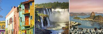Buenos Aires, Iguazu Falls & Rio de Janeiro