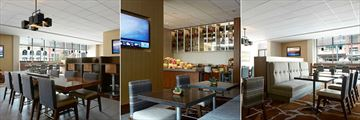 Calgary Downtown Marriott Hotel, M Club Lounge