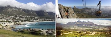 Camps Bay, Table Mountain cable car & The Vineyards