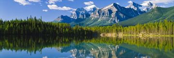 The Rocky Mountains in Banff National Park