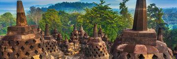 Candi Bororbudur, Yogyakara, Jawa, Indonesia