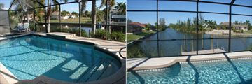 Cape Coral Area Gulf Coast Homes, Pool