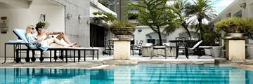 The Pool at Cape House Langsuan Serviced Apartments
