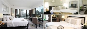 Cape House Langsuan Serviced Apartments, Two Bedroom Suite - Master Bedroom, Studio Suite and One Bedroom Suite
