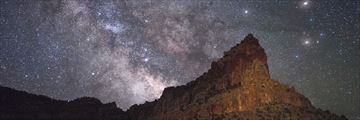 Starry night at Capitol Reef National Park