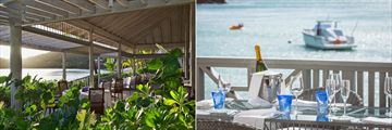 Indigo on the Beach and Jetty Grill at Carlisle Bay