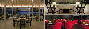Carlisle Bay, Indigo On The Beach Restaurant, Pavilion Bar by Candlelight and East Restaurant