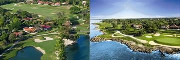 Casa De Campo, Dye Fore Course and Teeth of the Dog Course