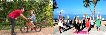 Cassia Cottage, Cycling and Yoga
